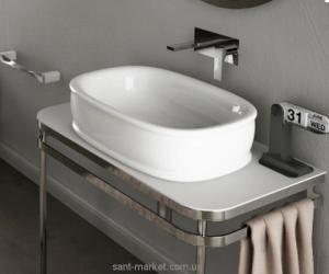 Раковина для ванной накладная Artceram коллекция Azuley белая AZL002