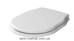 Крышка с сиденьем для унитаза ArtCeram Hermitage с микролифтом, белый HEA005 01/71