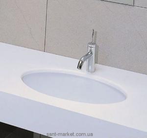 Раковина для ванной встраиваемая Artceram коллекция Diana Doppio Smalto белая DIL001