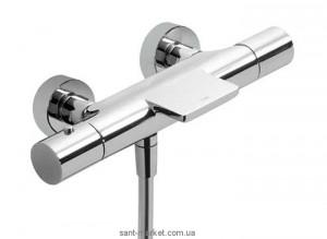 Смеситель с термостатом двухвентильный для ванны Tres коллекция Loft-Tres хром 200.174.01