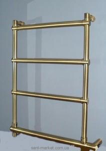 Электрический полотенцесушитель скрытый (BOX) Margaroli Sole 570х660х105 лесенка золото 542/B oro