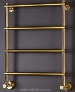 Водяной полотенцесушитель Margaroli коллекция Sole лесенка 535х726х125 бронза 442bronzo