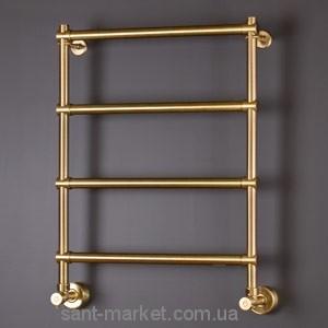 Водяной полотенцесушитель Margaroli коллекция Sole лесенка 535х726х125 золото 442oro