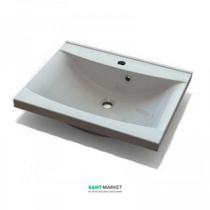 Раковина для ванной встраиваемая Буль-Буль коллекция Lucia белая 1306101