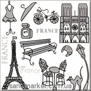 Opoczno MONTANA декор Франция 10x10