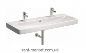 Раковина для ванной подвесная двойная KOLO коллекция Traffic белая L91520000