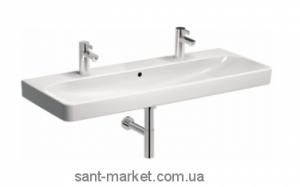 Раковина для ванной подвесная двойная KOLO коллекция Traffic белая L91520900