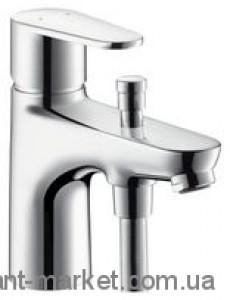 Смеситель для ванны однорычажный Hansgrohe коллекция Monotreux хром 31538000