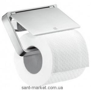 Hansgrohe Axor Universal Accessories Держатель туалетной бумаги с крышкой 42836000