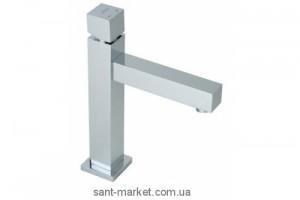 Смеситель для раковины одновентильный с донным клапаном высокий Jika Cubito хром H3114280040021