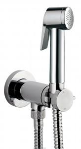 Гигиенический душ + смеситель Bossini коллекция Paloma Flat хром E37011B00030015