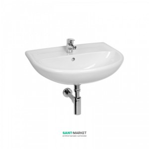 Раковина для ванной подвесная Jika коллекция Lyra Plus 55x19.5x45 белая H8143820001041