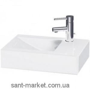 Раковина для ванной накладная Jika коллекция Pure 50x15x34.5 белая H8134210001061