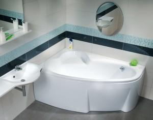 Ванна акриловая асимметричная Ravak коллекция Asymmetric 170х110х47 L C481000000