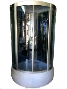 Гидробокс угловой Diamond A-002 100х100х215