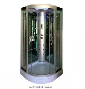 Гидробокс угловой Diamond A-004 90х90х213 с низким поддоном