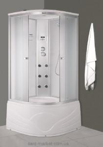 Гидробокс угловой Diamond A-816 90х90х213 с высоким поддоном