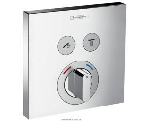 Смеситель для душа встраиваемый с термостатом Hansgrohe Axor Shower Select хром 15768000