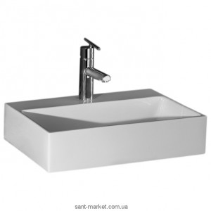 Раковина для ванной накладная AeT коллекция Orizzonti Thin Rettangolare белая L240T0R1V1