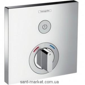 Смеситель для душа встраиваемый с термостатом Hansgrohe коллекция Shower Select хром 15767000