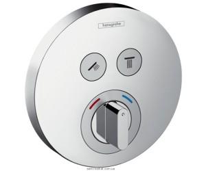 Смеситель для душа встраиваемый с термостатом Hansgrohe коллекция Shower Select S хром 15748000