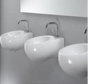 Раковина для ванной подвесная AeT коллекция Idea Sphere белая L312