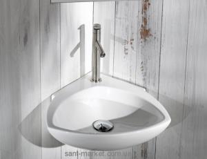 Раковина для ванной подвесная AeT коллекция Motivi Spot Corner белая L236T0R1V1