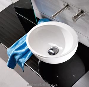 Раковина для ванной накладная AeT коллекция Motivi Spot Raft One белая L232
