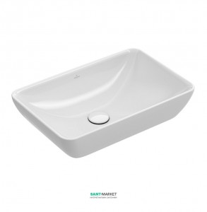 Раковина для ванной накладная Villeroy&Boch коллекция Venticello белая 41135501