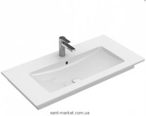 Раковина для ванной на тумбу Villeroy & Boch коллекция Venticello белая 41048L01