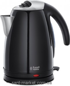 Russell Hobbs Электрочайник Colours Jet Black Kettle 1894670