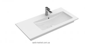 Раковина для ванной подвесная Villeroy & Boch коллекция Venticello белая 4134R101