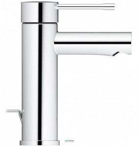 Смеситель для раковины однорычажный с донным клапаном Grohe колекция Essence+ хром 32898001