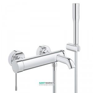 Смеситель однорычажный для ванны с душем Grohe коллекция Essence хром 33628001