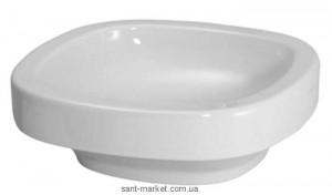 Раковина для ванной накладная Laufen коллекция Palomba белая H8118010001121