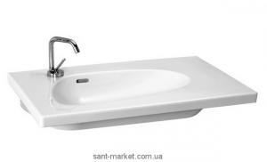 Раковина для ванной встраиваемая Laufen коллекция Palomba белая 8.1480.4.000.104.1