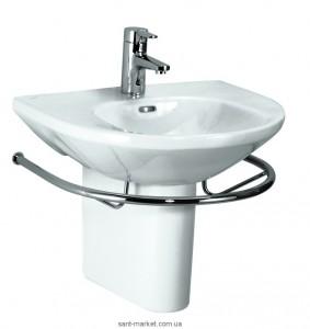 Раковина для ванной подвесная с вешалкой Laufen коллекция Living белая H8104310001041