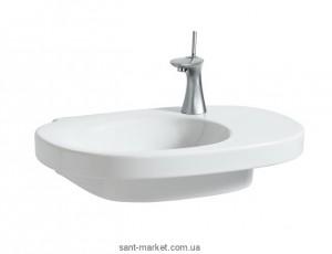Раковина для ванной накладная Laufen коллекция Mimo белая 8.1255.6.000.104.1