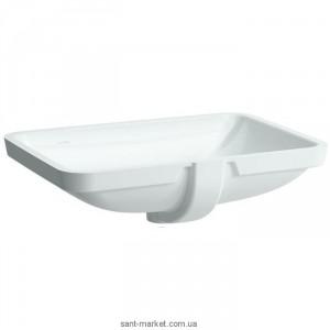 Раковина для ванной встраиваемая Laufen коллекция Pro белая 8.1196.9.000.109.1