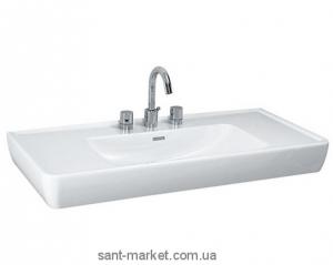 Раковина для ванной подвесная умывальник-столешница Laufen коллекция Pro белая H8139580001041
