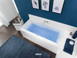 Villeroy & Boch Ванна 190х90 Squaro Edge UBQ190SQE2DV-01
