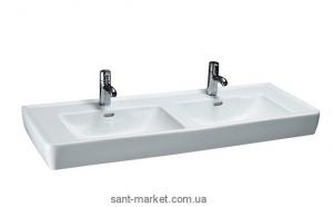 Раковина для ванной на тумбу двойная Laufen коллекция Pro белая H81496770001041