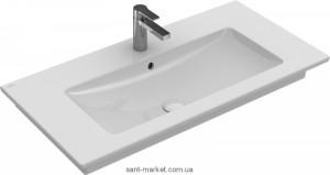 Раковина для ванной на тумбу Villeroy & Boch коллекция Venticello белая 4104AL01