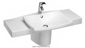 Раковина для ванной подвесная умівальник-столешница Jacob Delafon коллекция Escale белая 1280-00