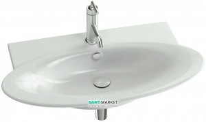 Раковина для ванной встраиваемая Jacob Delafon коллекция Presquile белая E4437