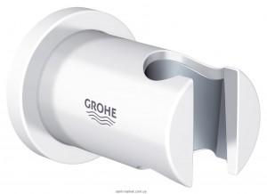 Настенный держатель для душевого шланга Grohe Rainshower нерегулируемый, белая луна 27074LS0
