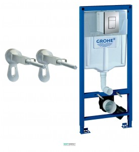 Система инсталляции для подвесного унитаза Grohe Rapid SL 3в1 50х113х14 5 38772001