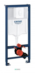 Система инсталляции для подвесного унитаза Grohe Rapid SL 3в1 50х113х23 38722001