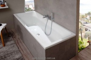 Ванна акриловая прямоугольная Villeroy & Boch коллекция Targa Style 170x75х48 UBA170FRA2V-01