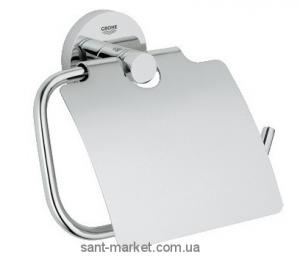 Grohe Держатель туалетной бумаги с крышкой Essentials 40367001
